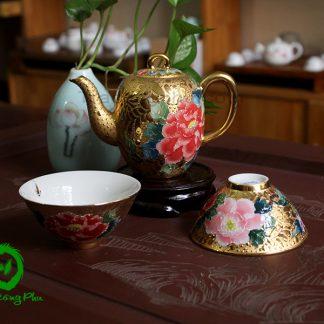 ấm chén đẹp, ấm pha trà đẹp