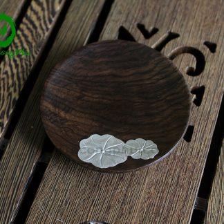 đế chén, đĩa lót chén gỗ