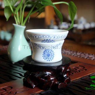 phễu lọc trà sứ