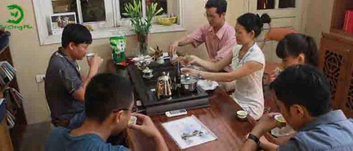 phòng thưởng trà