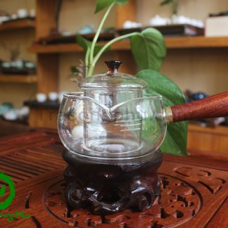 ấm pha trà thủy tinh