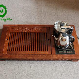 Bàn trà, khay trà gỗ đẹp tại hà Nội