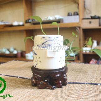 Ấm Sứ Độc Ẩm Hoa Sen - ĐA50