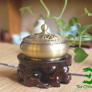 Lư Đồng Đốt Trầm Hương - LHĐ01B